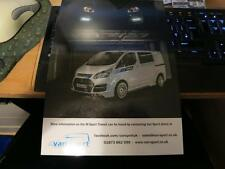 FORD TRANSIT M-SPORT VAN - limited edition RALLY WRC M SPORT SALES BROCHURE 2015