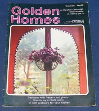 GOLDEN HOMES MAGAZINE #71 - HOME FABRICS - REUPHOLSTERING A FIRESIDE CHAIR