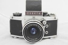 EXAKTA VX1000 - 50/2.8 Carl Zeiss Jena LENS VINTAGE PHOTO FILM CAMERA 35MM