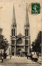 CPA PARIS 19e - Eglise de St-Jean-Baptiste de Belleville (302447)