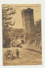 AK / Der schiefe Turm zu Dausenau a. Lahn, ... gel. 1917