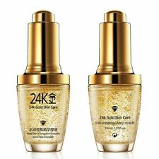 24K GOLD collagen Skin Care Against Aging Wrinkle Remove Liquid Face Cream H65