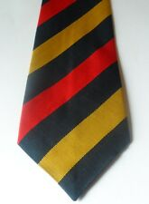 RAMC Striped Tie, Stripe, Polyester, Military, New, Royal Army Medical Corps