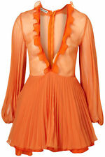 Topshop sadie dress UK 8 in Orange ( New with tags )