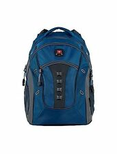 "NEW Wenger 16"" SwissGear Granite Laptop Backpack - Blue/Grey"