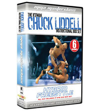 Chuck Liddell Hybrid Freestyle Instructional DVD Box Set [MMA UFC BJJ] BRAND NEW