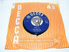 """Mike   Preston   Marry   Me    /   Girl   Without   A   Heart   1961   7""""  Vinyl"""
