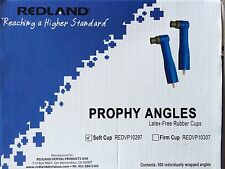 Redland Disposable Dental Prophy Angles Latex Free Soft Rubber Cups 1000 Pcs FDA