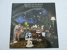 World Party Private Revolution CHEN 4 A1/B1 UK chrysalis 1986 LP +inner Ex +