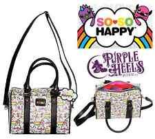 Loungefly Loves So So Happy Friendlees White Rainbow Handbag