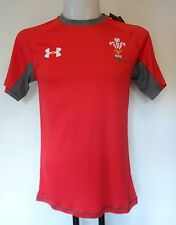 WALES RUGBY RED TRAINING JERSEY BY UNDER ARMOUR SIZE LARGE BRAND NEW WITH TAGS
