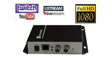 3G-SDI HD-SD Streaming Encoder Twitch Ustream LiveStream Live Broadcast IP Video