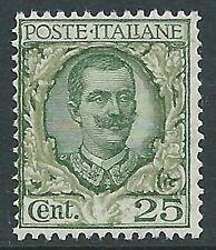 1926 REGNO FLOREALE 25 CENT MNH ** - CZ22