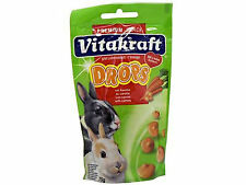 Vitakraft Drops For Small Animals Carrot