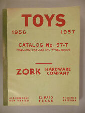 Zork Toy CATALOG - 1956-1957 ~~ wholesale toys ~~ 186 pages