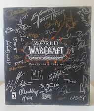 World Of Warcraft Cataclysm SIGNED Collector's Edition PC Game Landros (No Key)