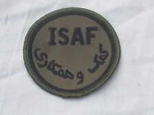 1x  ISAF,International Security Assistance Force,MTP,TRF,ohne Klett/Velcro