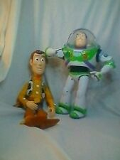 Toy Story Buzz Lightyear And Woody Talking Action Figure Disney Pixar