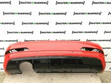 AUDI Q3RS Q3 RS REAR BUMPER WITH DIFUSOR IN RED GENUINE [A176]