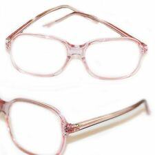 Jelly Readers Reading Glasses REAL GLASS Lens Women's Classic Pink Frame +2.25