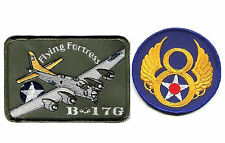 WWII US ARMY AIRFORCE B-17G FLYING FORTRESS BOMBER BOEING B-17 8TH AAF 2-PATCH