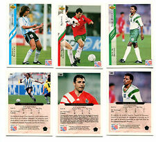 """Upper Deck 1994 World Cup """"High Numbers"""" Soccer Cards. 50 Assorted! Hard to Find"""