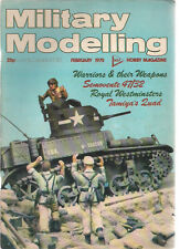 MILITARY MODELLING Magazine February 1975 (Great Britain)