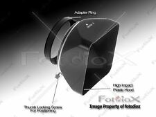 Fotodiox Video Medium Format Camera Lens Hood Sun Shade 58mm Black no box