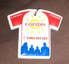 Collection porte clés vélo cyclisme tour de France 1997 maillot Cofidis