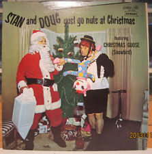 Stan & Doug Yust Go Nuts at Christmas - Golden Crest Lp GREAT COVER!