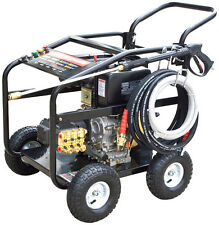 New 10HP DIESEL Commercial Pressure Washer 3600 PSI  AR Pump Electric Start
