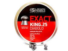 JSB Exact King .25 | .25 cal, 25.39 gr, 350 pcs