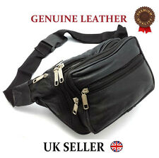 TRAVEL LEATHER BUM BAG BB2108 MONEY WAIST BELT PACK HOLIDAY FESTIVAL MONEY POUCH