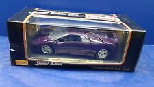 Maisto 1995 Lamborghini Jota 1:18 Deep Purple Diecast Car Ages 3+ New In Box