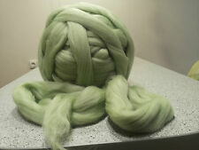 merino sheep wool tops roving yarn super bulky chunky arm knitting felting 1 lbs