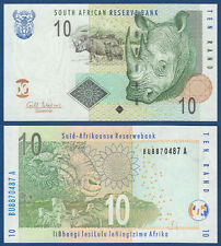 SÜDAFRIKA / SOUTH AFRICA 10 Rand (2005)  UNC P.128 b