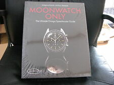 Omega Moonwatch Only Book - INCREDIBLY RARE COLLECTORS ITEM - BRAND NEW & SEALED