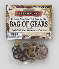 Steampunk Bag Of Gears Industrial Fiction Neo Victorian Costume Accessory