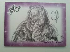 BREYGENT THE WIZARD OF OZ SKETCH TRADING CARD - CHRIS HENDERSON