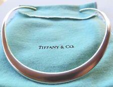 Tiffany & Co. 100% genuine 925 silver rigid mexico cuff collar necklace