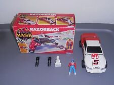 1987 M.A.S.K. Razorback w/ Brad Turner Complete With Box Kenner