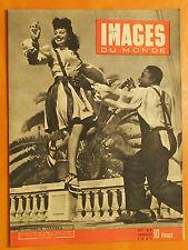 Images du Monde 29-24/7/1945-2 danses nées le 14 Juillet à Alger Youm & Tri-tou