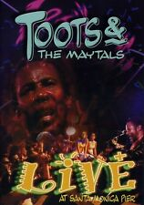 Toots & The Maytals: Live at Santa Monica Pier (2001, REGION 0 DVD New)