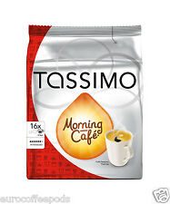 Tassimo Morning Cafe Coffee 16 T-Discs / Servings