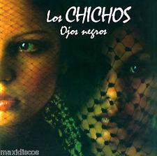 LP - Los Chichos - Ojos Negros (RUMBA FLAMENCA) LP DE VINILO ORIG. PHILIPS 1988