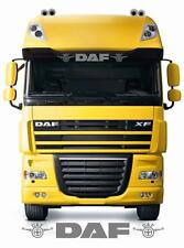 Daf Truck sun visor sticker/decal for cab lightbox or visor exterior fit
