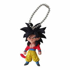 Dragon ball Kai Z UDM 15 Ultimate Deformed Mascot Burst Key chain SS4 Goku Gokou