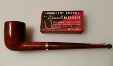 Vintage Collectible NEW Unsmoked Medico VFQ 43 Gloss Finish Briar Pipe Filters