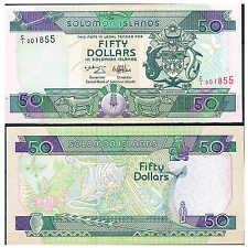 SOLOMON ISLANDS - ISLAS SALOMON 50 DÓLARES 1996 Pick 22  Sign 6    SC  UNC