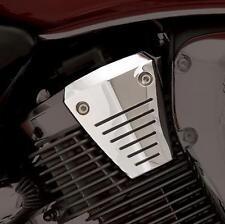 Honda VTX1800 Show Chrome Grooved Spark Plug Cover Set 4 piece set 55-125